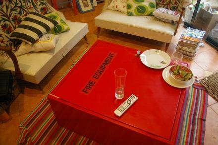 repurposed fire box